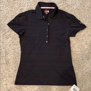Tops - Women's Puma Black Sport Polo Golf Shirt - M